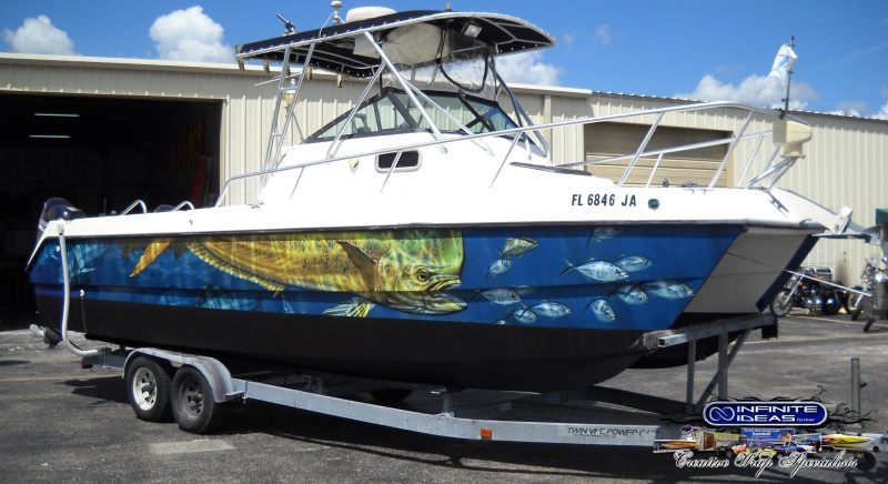 infinite ideas designer graphics design it print it wrap it - Boat Graphics Designs Ideas